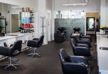 Mobilier design salon de coiffure