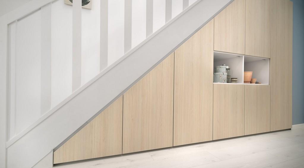 Rangement sous escalier Schmidt
