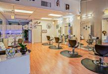 Salon de coiffure mobilier