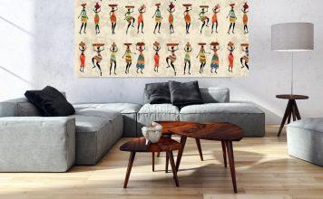 Style africain déco maison
